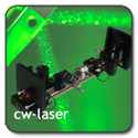 button laser cw 125